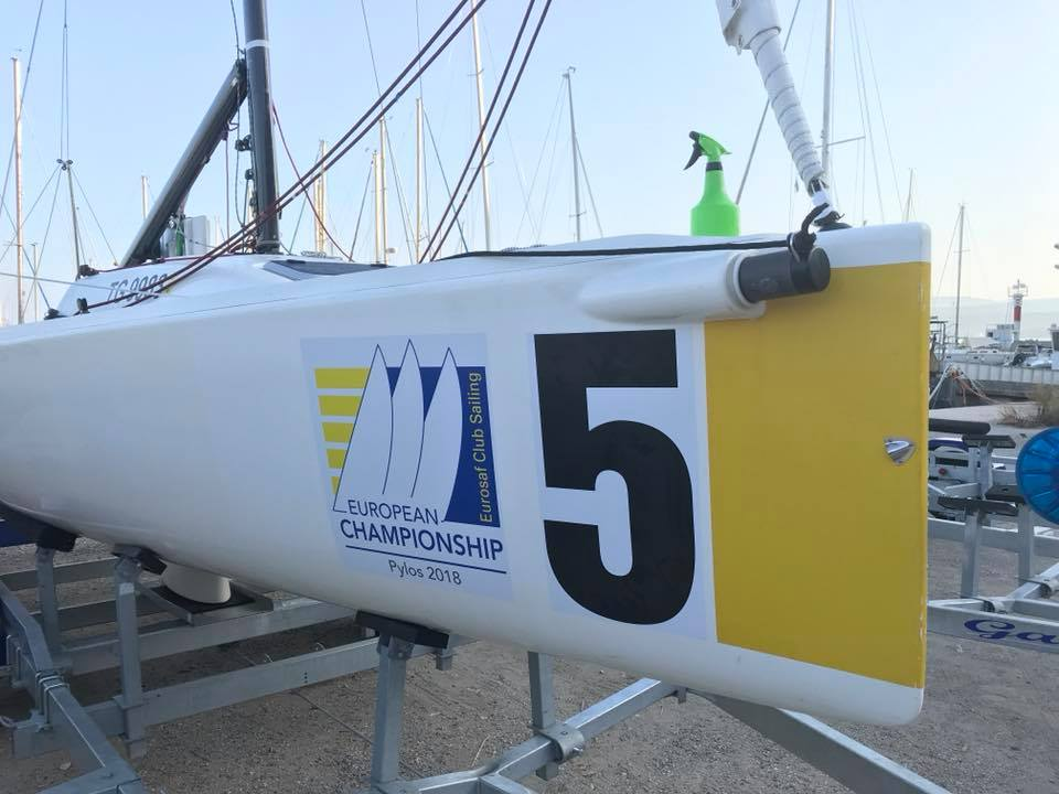 Sailing Clubs battle on the bay of Navarino to crown their European Champion